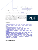 OSI Model Notes