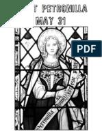 5.31 Saint Petronilla