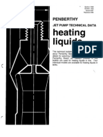Eductor Bulletin 1400 Heating Liquids
