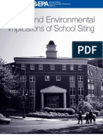 Travel and Environmental Implications of School Siting EPA
