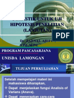 PRESENTASI 4 STATISTIK S-2