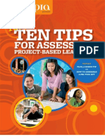 Top Ten Tips for Assessing Project -Based Learning, Edutopia
