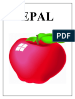Epal & Pisang Flash Card