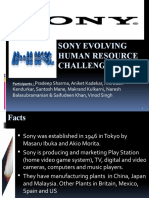 Sony Evolving Human Resource Challenge_1