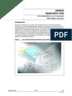 AN2644 - An Introduction to LLC Resonant Half-bridge Converter