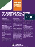 Bases in English Premio Arte Joven 2010