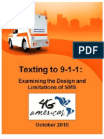 SMS to 911 White Paper Final October 2010