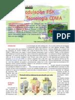 5) CDMA y FSK