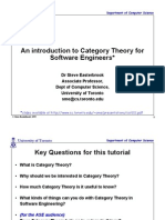 MATH - An Introduction to Category Theory