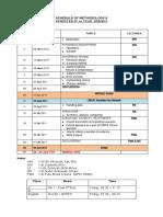 Schedule Method -2 10-11