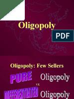 Oligopoly Cartels