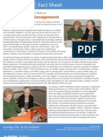 Occupational Therapy's Role in Diabetes Self Management
