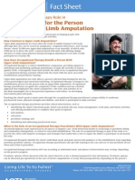 The OT Role in Rehabilitation for the Person With an Upper-Limb Amputation