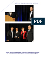 Social Enterprise Leadership Award 2010