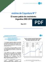 CIFRA - Informe de Coyuntura 07 - Mayo 2011