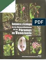 Botánica y Ecología de las Monocotiledóneas de los Páramos en Venezuela (Contenido y Presentación)