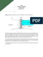 Fluid Mechanics Assignment 2 Mit