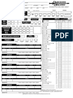 D&D 3.5 Character Sheet Barbarian