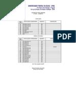 2008 Prova Portugues e Ciencias Naturais - Caderno 1 Fase 1 - Gabarito