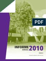 Informe 2010 de La CDH-DF