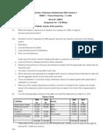 BB0017 Financial Reporting Fall-10