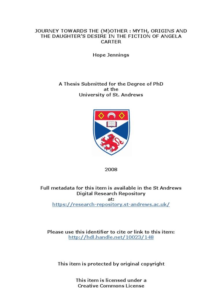 Phd thesis feminism