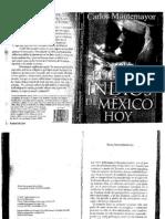 Monte Mayor, Carlos - Los Pueblos Indios de Mexico Hoy (2001)
