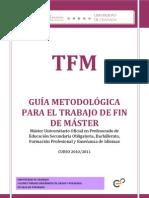 Guia MetodológicaTFM  2011