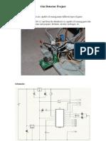 Gas Detector Project Description