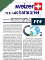 Schweizer Wirtschaftsbrief