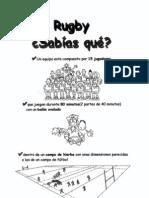 EL RUGBY CÓMO SE JUEGA