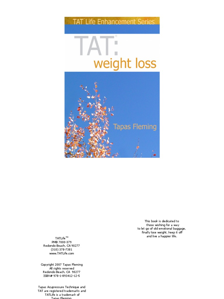 TAT-Weight Loss Booklet Download 2007-05-04 | Forgiveness | Feeling