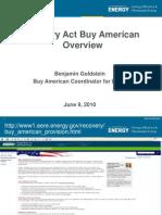 Buy American Webinar 20100906