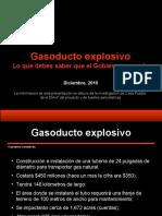 Gasoducto explosivo