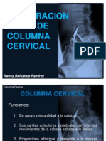 Exploracion Fisica de Columna Cervical