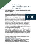 Unidad 2 - Benedict - ad y ad Del Condicionamiento Cultural
