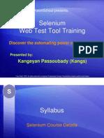 Basic Selenium Tutorial - Course Details [PDF Library]