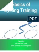 Basics of Cycling Training