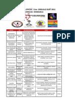 Cronograma oficial 11vo orgullo GLBT 2011 caracas- venezuela