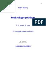 Sophrologie pratique. André Daprey