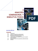 Analisis Dimensional Similitud