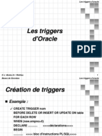 Les Triggers Oracle