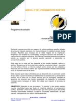 DESARROLLO DEL PENSAMIENTO POÉTICO