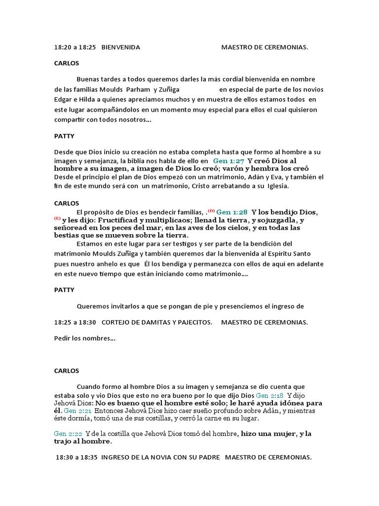 Carta De Boda Ejemplo Top Quotes R