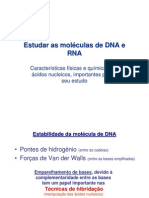 Estudos de DNA e RNA