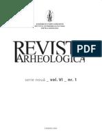 Revista Arheologica 2010. Vol. VI, N 1