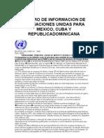 Centro de informacion de Las Naciones Unidas Para Mexico