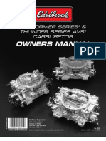 Edelbrock AVS Manual