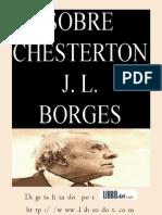 Borges, Jorge Luis - Sobre Chesterton