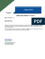 Circular CIMAS 113/11